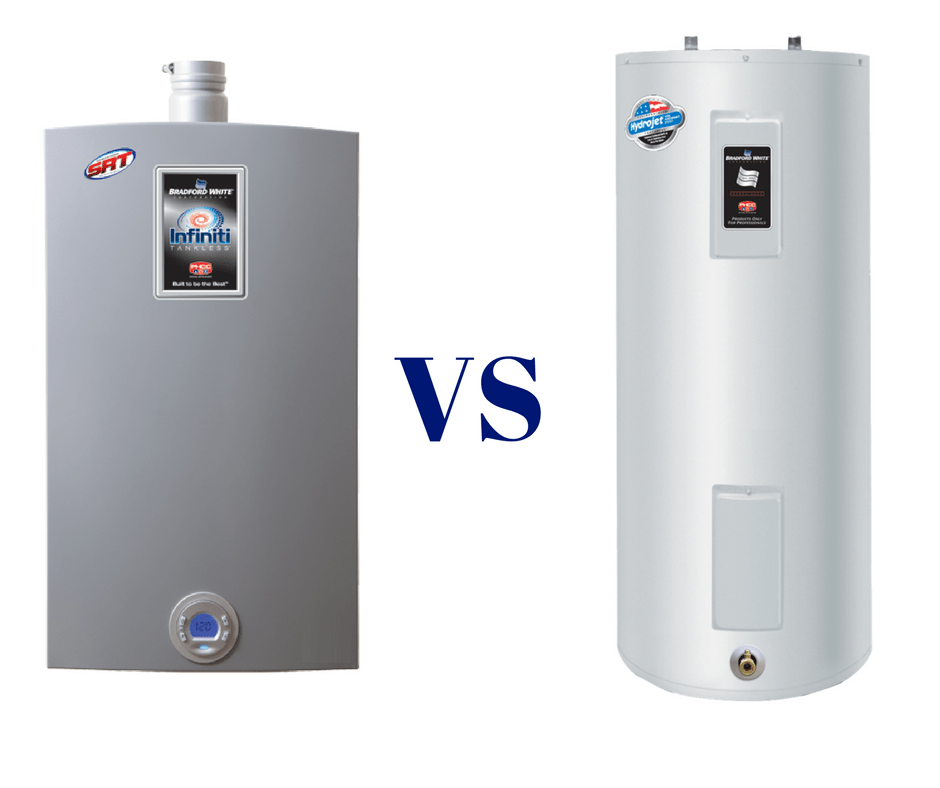 Tankless-vs-with-tank-water-heaters