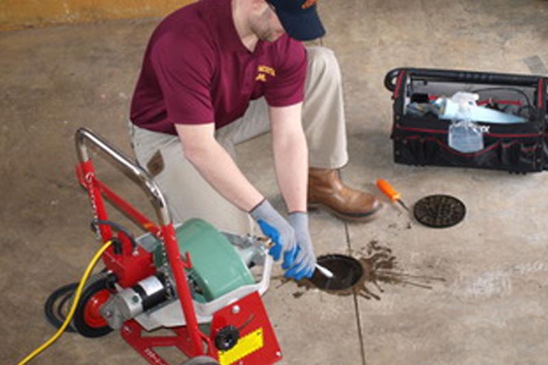 Floor Drain Sewer Repair