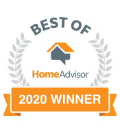 Home Advisor Best of 2020 Winner