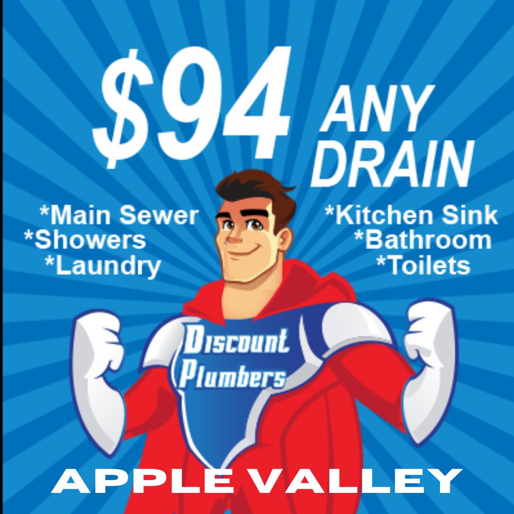 $94 Any Drain Apple Valley